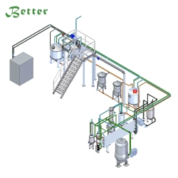300L  Alcohol Evaporation And Recovery Low Temperature low pressure  Extraction Machine