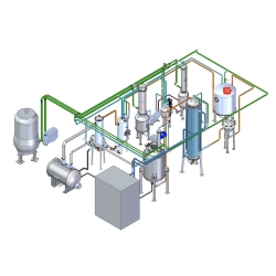 Introduction:  This Low Temperature Ethanol Extraction Machine is applicable for the multiple technology of normal pressure ,micro pressure,water frying ,warm soaking ,thermal reflux,compulsory circulation,filtration,redolent oil extraction and organically solvent recycling in traditional Chinese medicine,food and chemical industry. It is equipped with CIP cleaning device in the tank. solvent extraction  Features: 1. The Low Temperature Ethanol Extraction Machine consists of extractor, tubular heater, evaporator, condenser, oil-liquid separator, oil collector, medicine liquid pump, weighing vent, liquid storage tank, filter, vacuum pump, and electric cabinet. Defoamers are fixed in the steam outlet of the extractor and evaporator. The units without steam heating can be fixed with oil heating system.  2. It can be operate to hot recycling distill and condense, normal extraction, concentration, precipitation and percolation.  3. It can work in the condition of negative pressure, atm. and positive pressure. It can apply to distill water, ethanol and solvent, up to GMP standard.  4. The Low Temperature Ethanol Extraction Machine has great advantages in multi-function, high efficiency, energy saving, and wide operation arrange. It pioneers in comprehensive capacity in nationwide; it is the pilot equipment in distilling natural herbal medicine, especially fit for research institution, universities and collages, and factory pilot experiment, or distilling valued medicine, or low temperature fresh herbal. It has been widely used in factories.  Device Parameters:  Model	Capacity	Hot water generator power	Material	Heating Area of Extraction Tank	Condensing Area of Condenser	Vacuum pump power HST10	10L	6KW	SUS304/316	0.21M2	0.22 M2	0.55KW HST20	20L	8.8KW	SUS304/316	0.28 M2	0.5 M2	0.55KW HST30	30L	10KW	SUS304/316	0.33 M2	0.72 M2	1.5 KW HST50	50L	12KW	SUS304/316	0.5 M2	0.83 M2	3KW HST100	100L	24KW	SUS304/316	0.98 M2	0.95 M2	4KW HST150	150L	25KW	SUS304/316	1.45 M2	1.2 M2	4KW HST200	200L	27KW	SUS304/316	1.85 M2	1.5 M2	6.5 KW HST300	300L	35KW	SUS304/316	2.85 M2	2.3 M2	8KW   Application:   Pharmaceutical  analytical solution of antibiotic resin for desalination and concentration, vitamin concentration  Dye  desalination and concentration, instead of salting out, acid  Amino acid  decolorization, impurity removal, concentration and desalination  Food  oligosaccharides, starch, sugar, separation, purification, fruit juice concentrate, plant extract  Recovery of mother liquor  MSG mother liquor purification, glucose crystallization solution impurity etc.  Water treatment  printing and dyeing waste-water treatment, water reuse, ultra pure water preparation  Acid, alkali recovery  pharmaceutical industry washing column acid, alkali waste liquid, chemical fiber industry waste acid, alkali  Packing:    Our Service:  Pre-Sales Service  * Inquiry and consulting support.  * Sample testing support.  * View our Factory.    After-Sales Service  * Training how to install the machine, training how to use the machine.  * Engineers available to service machinery overseas.     User Demand Analysis Once the project is confirmed, the product level, processing technology and consulting group are analyzed according to the actual demands of customers so as to provide suitable engineering plans, form a complete production line and calculate the budget.  Engineering Design We carry out planning and designs on details of engineering plans through introducing internationally advances design conception to provide valuable project technological plans and ensure effective implementation of all steps.  Product Manufacturing The approved production drawing is the basis for production and manufacturing. All equipment that is not manufactured on the site shall be indentified by our quality responsible person so as to meet the strict stipulations.  Automatic Control Integration The installation of the system and the whole automatic project meets the GMP standard and FDA standard. According to our years of experience, the installation and process rules will help simplify the starting and commissioning of equipment.  Trial Running and Training During the equipment commissioning, our engineers will provide guidance on the site and carry out various tests with respect to all performances of the equipment with customers. Approval will be received from users.  Verification Services To ensure normal production, we can set up maintenance and servicing plans for a single machine, the whole production line or the whole factory and provide equipment maintenance services and offer fittings according to customer requirements.  Certificate:  FAQ: Q:What does BETTER need from me to quote a price? 1.Raw material 2.Production capacity per batch  Q:What is the oil yield? The oil yield depends on oil content of your material.If the oil content of your material is high,you can get more essential oil.  Q:Can I use the machine to extract several kinds of raw materials? Yes,of course.  Q:Can I do extraction test with my own raw material? Yes,of course.We can do extraction test and send you videos and test report for your Reference.  Q:What heating way does your machine support? Electricity/gas/wood/steam heating.  Q:What is your material of your machine? Stainless steel(Standard type is SUS304,it can be customized according to your request)  Q:How long does it take to produce the machine once I place my order ? Usually the delivery time is 30 working days after prepayment received.   Q:What is the minimum quantity I must order? We don't technically have minimums, but if you order more than 3 sets once,we can give you a discount.  Q:Do you have machines in stock? No,our machine is produced according to your request.  Q:How will my order be packed, can you provide the installation service? Packed in plywood case.  How To Contact Us: Miss Joyce:  ---Your professional sales manager  Tel: +86-18917686969   Email: info@better-industry.com