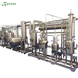 Factory direct extraction and concentration unit